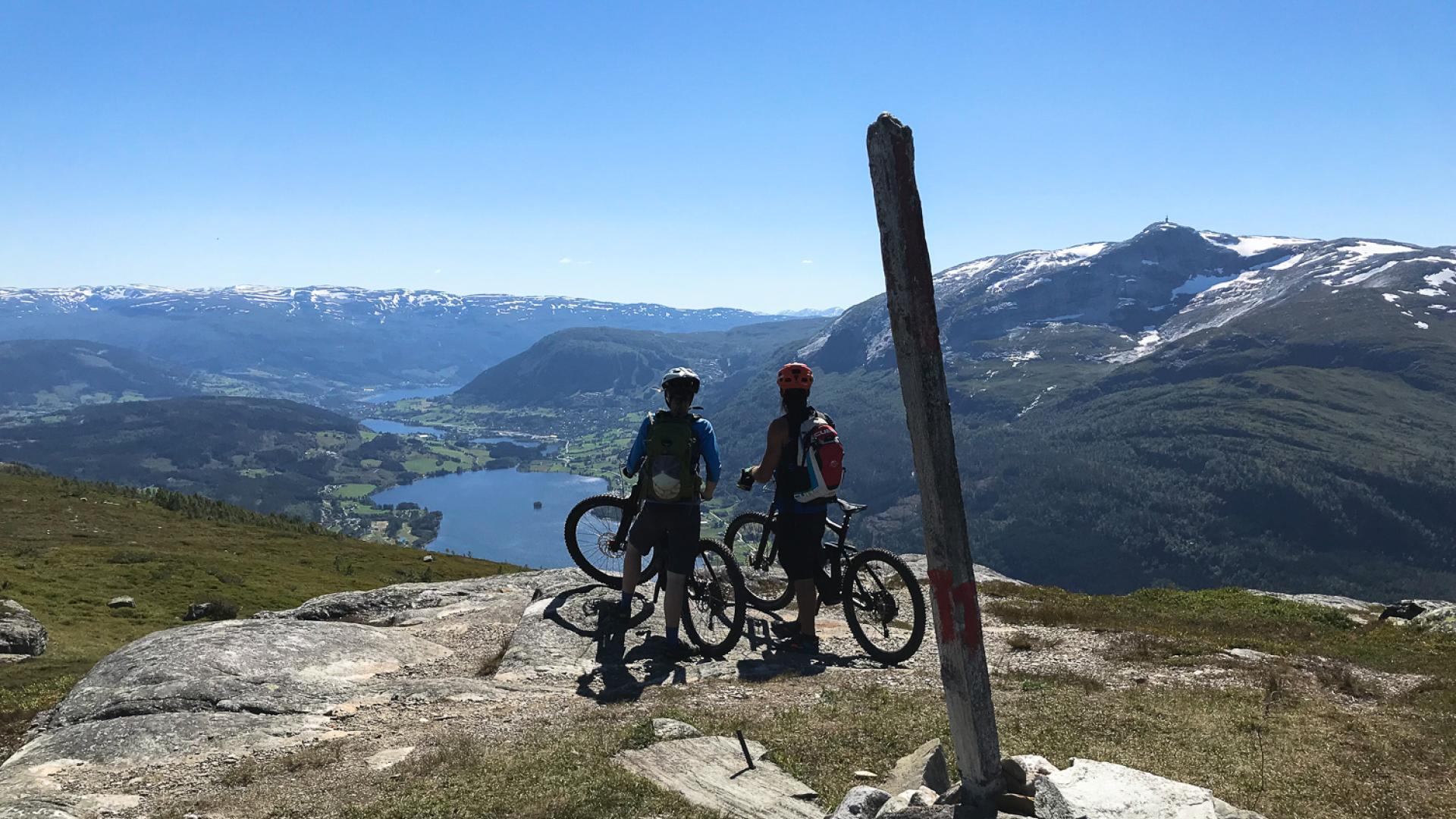 Sykling med outdoor norway