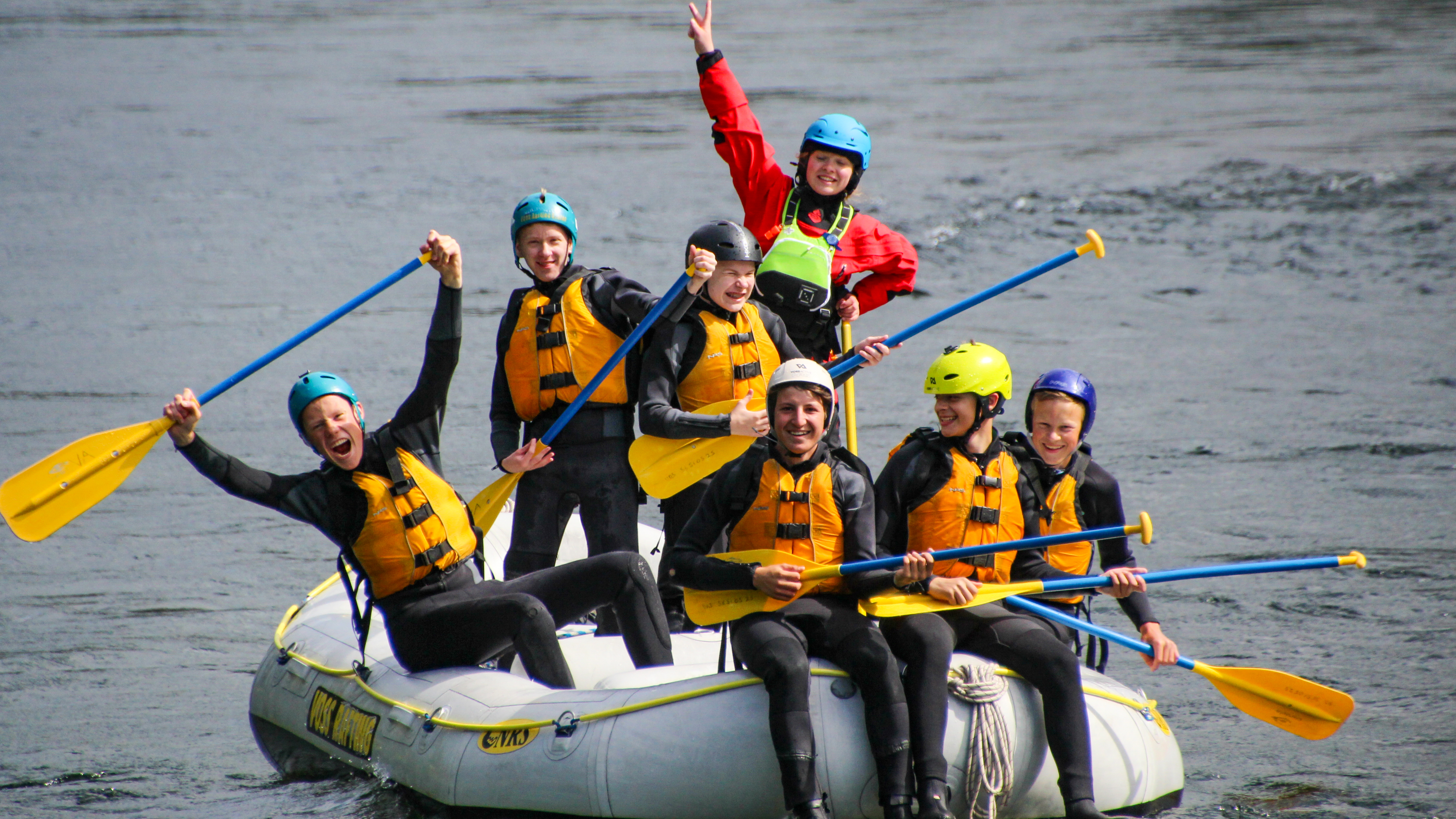 Rafting med Voss Active